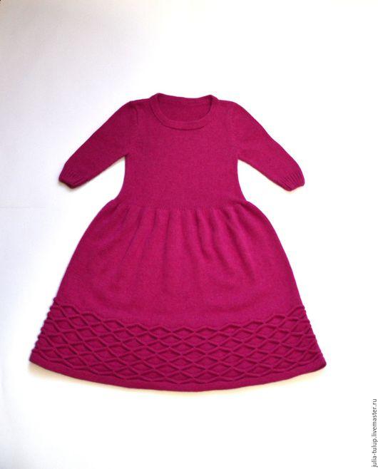 """Одежда для девочек, ручной работы. Ярмарка Мастеров - ручная работа. Купить Платье для девочки """"Нежный зефир"""" в малиновом цвете. Handmade."""