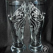 Посуда handmade. Livemaster - original item Beer glasses