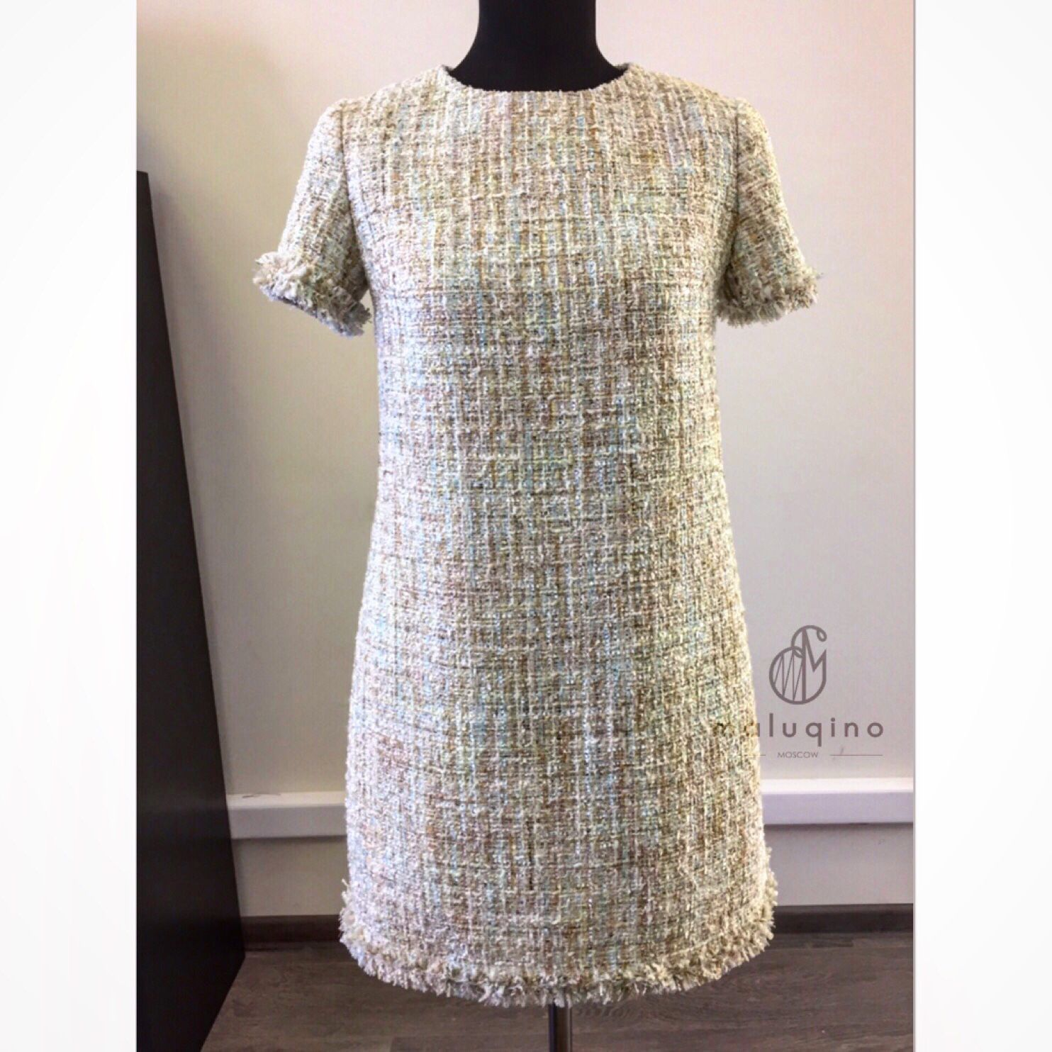 Платья ручной работы. Ярмарка Мастеров - ручная работа. Купить Платье из твида. Handmade. Платье, платье в стиле шанель