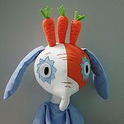Куклы и игрушки handmade. Livemaster - original item A fancy m/f kin-DZA-DZA. Handmade.
