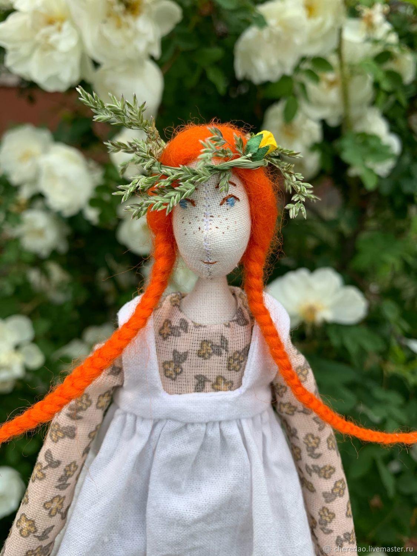 Энн из Зеленых крыш, Портретная кукла, Петрозаводск,  Фото №1
