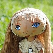 Куклы и игрушки ручной работы. Ярмарка Мастеров - ручная работа Кукла тыквоголовка Аринка. Handmade.