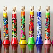 Музыкальные инструменты handmade. Livemaster - original item Flute whistle wooden. Handmade.