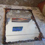 Для дома и интерьера ручной работы. Ярмарка Мастеров - ручная работа Зеркало кофе. Handmade.