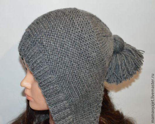 Шапки ручной работы. Ярмарка Мастеров - ручная работа. Купить шапка капуцин, капор, капюшон, башлык, шапка с кистями, шапка с ушками. Handmade.