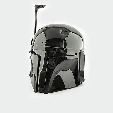 Дизайн и реклама ручной работы. Ярмарка Мастеров - ручная работа Шлем Боба Фетт (Black Edition) из StarWars. Handmade.