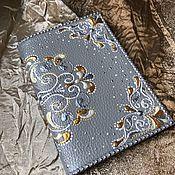 Обложки ручной работы. Ярмарка Мастеров - ручная работа Обложка для паспорта Благородный Серый. Handmade.