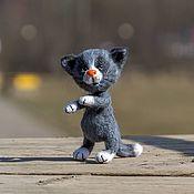 Куклы и игрушки handmade. Livemaster - original item Interior toy cat of Kisao. Handmade.