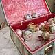 """Корзины, коробы ручной работы. """"Назад в детство"""", чемодан  новогодний для ёлочных игрушек. Домовёнок Кузя. Ярмарка Мастеров. Интрерьер"""