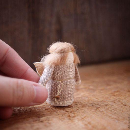 Народные куклы ручной работы. Ярмарка Мастеров - ручная работа. Купить Ангел. Handmade. Комбинированный, народная кукла, ангел, лён