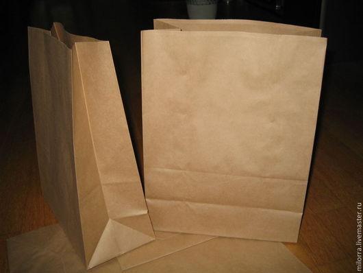 Упаковка ручной работы. Ярмарка Мастеров - ручная работа. Купить Крафт пакет 30х17х10 см. Handmade. Крафт, крафт пакеты