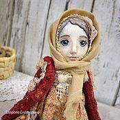 """Куклы и игрушки ручной работы. Ярмарка Мастеров - ручная работа """"Чистая душа"""" птичка-куколка тедди-долл. Handmade."""