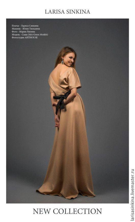 Платья ручной работы. Ярмарка Мастеров - ручная работа. Купить Платье на заказ. Handmade. Комбинированный, работа на заказ, Платье нарядное