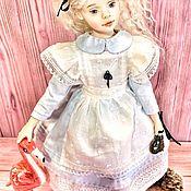Шарнирная кукла ручной работы. Ярмарка Мастеров - ручная работа Алиса. Handmade.