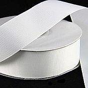 Материалы для творчества handmade. Livemaster - original item White turnip tape 40, 20, 12 mm.. Handmade.