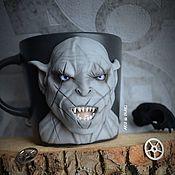 Посуда handmade. Livemaster - original item Mug the Orc Azog the Defiler Lord of the Rings. Handmade.