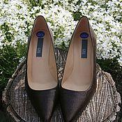 Обувь винтажная ручной работы. Ярмарка Мастеров - ручная работа Туфли Кожаные Классические. Handmade.