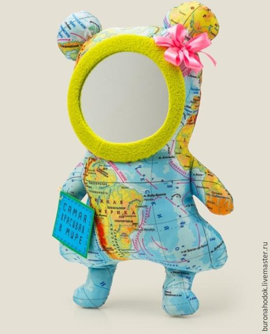 Персональные подарки ручной работы. Ярмарка Мастеров - ручная работа. Купить Зеркало Самая красивая в мире. Handmade. Разноцветный