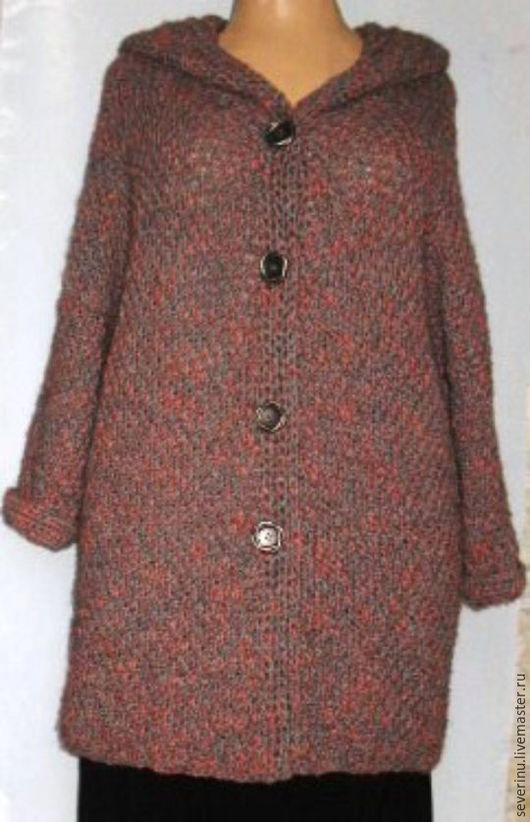 """Верхняя одежда ручной работы. Ярмарка Мастеров - ручная работа. Купить пальто """"Листопад"""". Handmade. Комбинированный, нарядный, креативный, ангора"""
