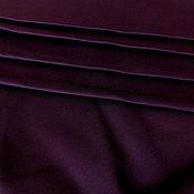 Ткани ручной работы. Ярмарка Мастеров - ручная работа Джерси антипиллинг баклажан. Handmade.