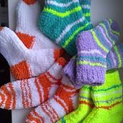 Работы для детей, ручной работы. Ярмарка Мастеров - ручная работа Вязанные носочки. Handmade.