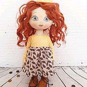 Портретная кукла ручной работы. Ярмарка Мастеров - ручная работа Принцесса из хлопка. Handmade.