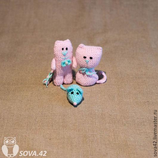 Игрушки животные, ручной работы. Ярмарка Мастеров - ручная работа. Купить Вязаные крючком игрушки амигуруми. Handmade. Комбинированный