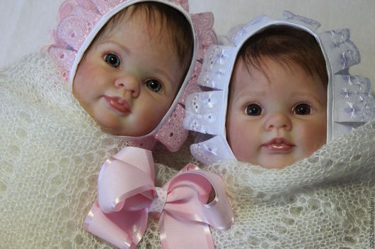 Куклы-младенцы и reborn ручной работы. Ярмарка Мастеров - ручная работа. Купить Малышки Думплин. Handmade. Розовый, дорогой подарок