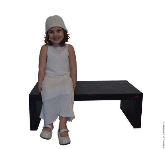 Мебель ручной работы. Ярмарка Мастеров - ручная работа. Купить Стол 2. Handmade. Дерево, черный цвет, шпон имбайя