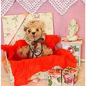 Куклы и игрушки ручной работы. Ярмарка Мастеров - ручная работа авторская игрушка мишка тедди МОНА. Handmade.