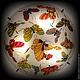 """Освещение ручной работы. Заказать Люстра """"Бабочки"""" №2. Валерия Сидько. Ярмарка Мастеров. Освещение, светильник, эксклюзивный подарок"""