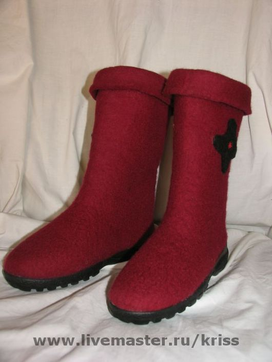 Обувь ручной работы. Ярмарка Мастеров - ручная работа. Купить валенки-сапожки. Handmade. Валенки ручной валки, валенки для улицы
