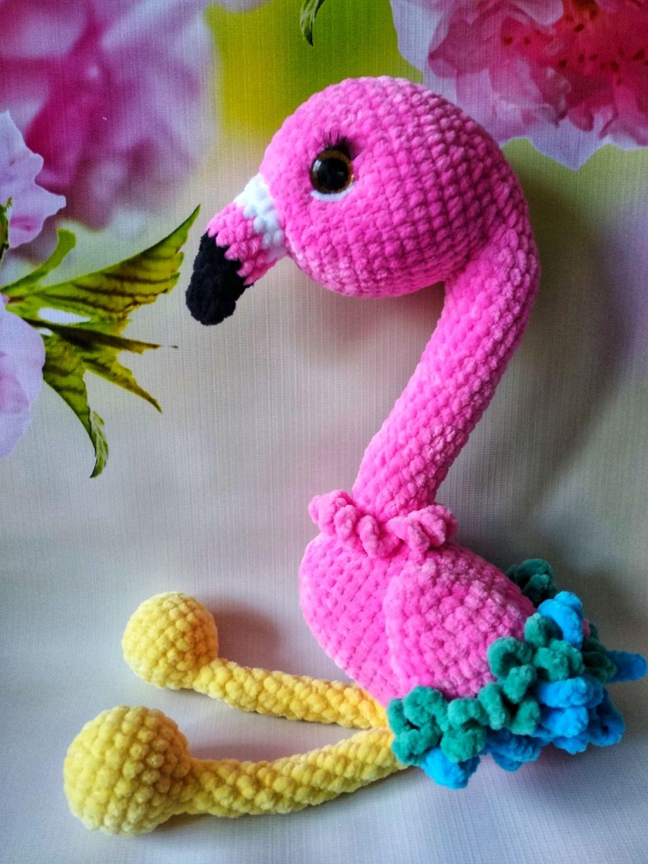 Фламинго, Мягкие игрушки, Москва,  Фото №1