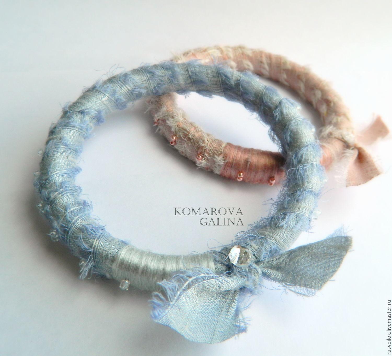 bracelet silk boho