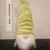 Мягкие игрушки ручной работы. Ярмарка Мастеров - ручная работа Мягкие игрушки:  гном. Handmade.