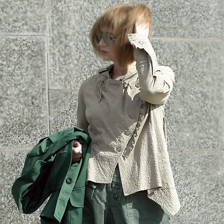 Рубаха хлопковая, Блузки, Москва,  Фото №1