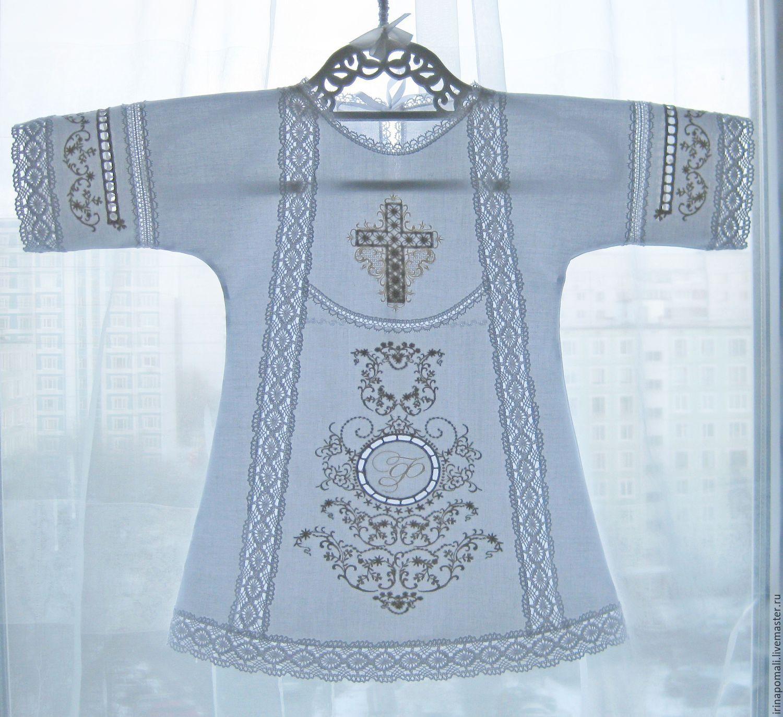 Вышивка для крестильных рубашек