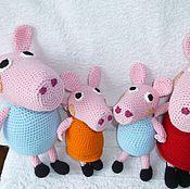 Куклы и игрушки ручной работы. Ярмарка Мастеров - ручная работа Свинка. Handmade.