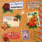 Материалы для творчества handmade. Livemaster - original item Sticker decorative