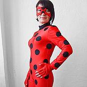 Одежда handmade. Livemaster - original item Lady Bug. Animator-actor suit. Handmade.