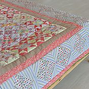 Для дома и интерьера handmade. Livemaster - original item Patchwork - plaid. Handmade.