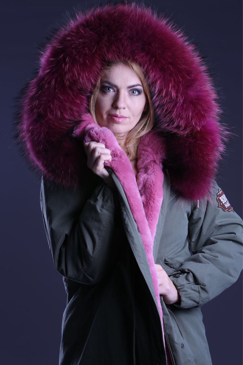 Parka with a fur liner, Parkas jacket, Zelenograd,  Фото №1