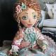 Коллекционные куклы ручной работы. Заказать Кукла текстильная Жанетт. Марина (azalea33). Ярмарка Мастеров. Текстильная кукла, подарок девушке