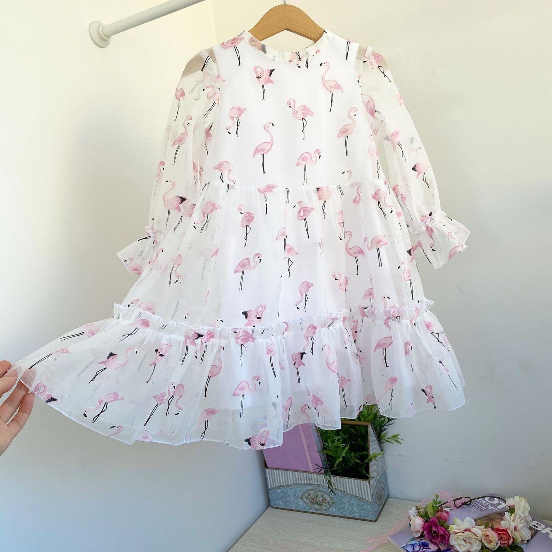 Платье-аквариум «Розовый фламинго», Платья, Балашиха,  Фото №1