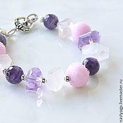 Украшения handmade. Livemaster - original item Bracelet amethyst women`s Provence to buy. Handmade.