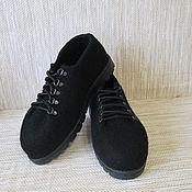 Обувь ручной работы. Ярмарка Мастеров - ручная работа Войлочные ботинки Bagira. Handmade.