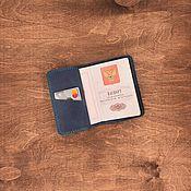 Сумки и аксессуары handmade. Livemaster - original item Passport cover, genuine manam leather. Handmade.