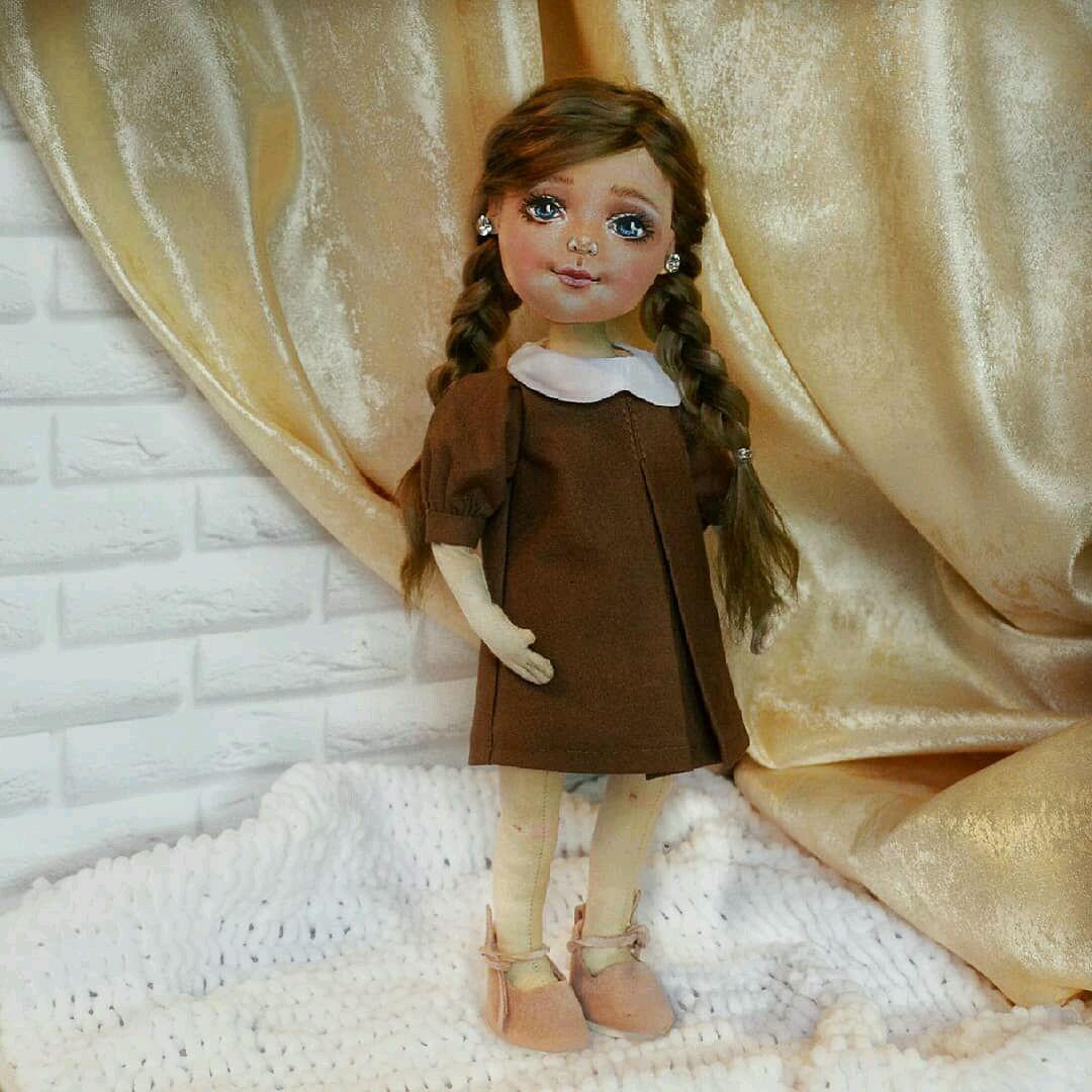Кукла по фото интерьерная на заказ, Портретная кукла, Новоаннинский,  Фото №1