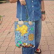 Сумки и аксессуары ручной работы. Ярмарка Мастеров - ручная работа сумка -Рыбы. Handmade.