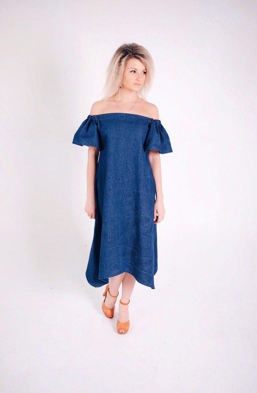 Купить платье с воланом москва